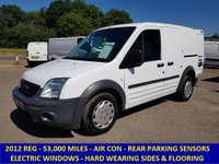 2012 FORD TRANSIT CONNECT 200 SWB WITH AIR CONDITIONING & ELECTRIC PACK £4995.00