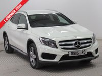 USED 2015 15 MERCEDES-BENZ GLA-CLASS 2.1 GLA200 CDI AMG LINE 5d AUTO 136 BHP 1 Owner, full service history, serviced in Mya 2016 at 10,300 miles, April 2017 at 15,846 miles and in June 2018 at 18,817 miles. MOT until 11th March 2019.  Stunning AMG Line, with Half Leather and suede like trim,  reversing camera, £20 RFL, A/c, Bluetooth, AMG Line Alloy Wheels, 2 Keys. Free RAC Warranty and free RAC Breakdown Cover. Nationwide Delivery Available. Finance Available at 9.9% APR Representative.
