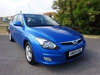 2009 HYUNDAI I30 1.4 COMFORT 5d 108 BHP, 1 OWNER, BLUE £3495.00