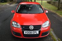 USED 2008 08 VOLKSWAGEN GOLF 2.0 GT TDI 5d 138 BHP SERVICE HISTORY, SPORTS CLOTH SEATS, TINTED GLASS, RADIO CD PLAYER