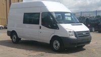 2009 FORD TRANSIT  TRANSIT 350 LWB 2.4 100 BHP 6 SEATER CREW VAN WITH TAIL LIFT RAMP X MOD 1 OWNER F/S/H 2 KEYS £4990.00