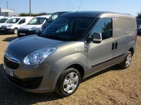 USED 2015 15 VAUXHALL COMBO 1.2 2000 L1H1 CDTI SPORTIVE 1d 90 BHP 2015 COMBO VERY ECONOMICAL VAN AIR CONDITIONING.