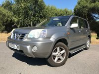 USED 2003 03 NISSAN X-TRAIL 2.0 S 5d AUTO 139 BHP PX TO CLEAR!! AUTOMATIC, SUNROOF, LEATHER INTERIOR, 4X4, DRIVES WELL JUST BEEN SERVICED AND MOT'D!!