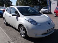 USED 2013 13 NISSAN LEAF 0.0 EV AUTO 5d AUTO 107 BHP ****Great Value economical reliable family car with excellent service history, drives superbly****