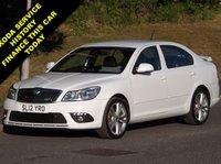 2012 SKODA OCTAVIA 2.0 VRS TFSI DSG 5d AUTO 198 BHP £9495.00