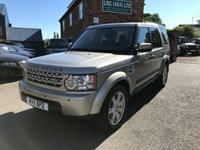 USED 2011 11 LAND ROVER DISCOVERY 3.0 4 SDV6 GS 5d 245 BHP Very clean Discovery 4