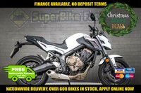 USED 2017 67 HONDA CB 650 CB 650 USED MOTORBIKE NATIONWIDE DELIVERY GOOD & BAD CREDIT ACCEPTED, OVER 500+ BIKES IN STOCK