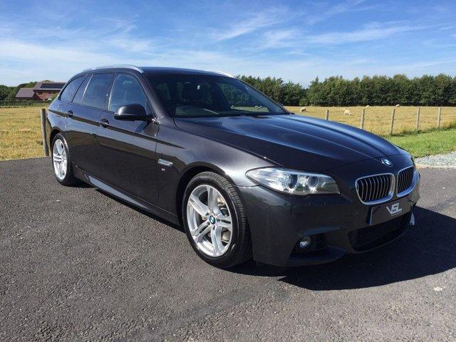 2014 14 BMW 5 SERIES 2.0 520D M SPORT TOURING 5d AUTO 181 BHP