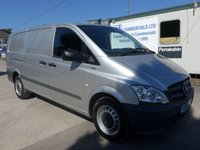 USED 2013 13 MERCEDES-BENZ VITO 113 CDI BLUEEFFICIENCY, 113 BHP [EURO], AIR CON, 1 COMPANY OWNER