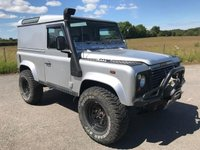 2003 LAND ROVER DEFENDER 2.5 90 TD5 COUNTY HARD TOP 1d 120 BHP £11995.00