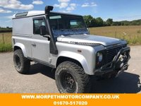 USED 2003 03 LAND ROVER DEFENDER 2.5 90 TD5 COUNTY HARD TOP 1d 120 BHP