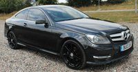 2013 MERCEDES-BENZ C CLASS 2.1 C220 CDI BLUEEFFICIENCY AMG SPORT 2d AUTO 170 BHP £13795.00