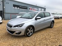 USED 2015 15 PEUGEOT 308 1.6 HDI S/S ALLURE 5d 115 BHP