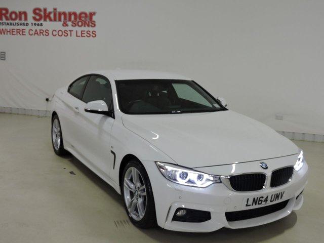View our 2014 64 BMW 4 SERIES 2.0 420D M SPORT 2d AUTO 181 BHP