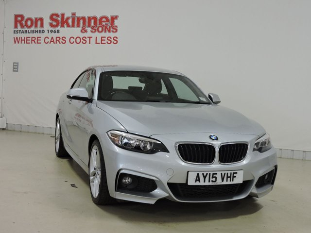 View our 2015 15 BMW 2 SERIES 2.0 220D M SPORT 2d 188 BHP