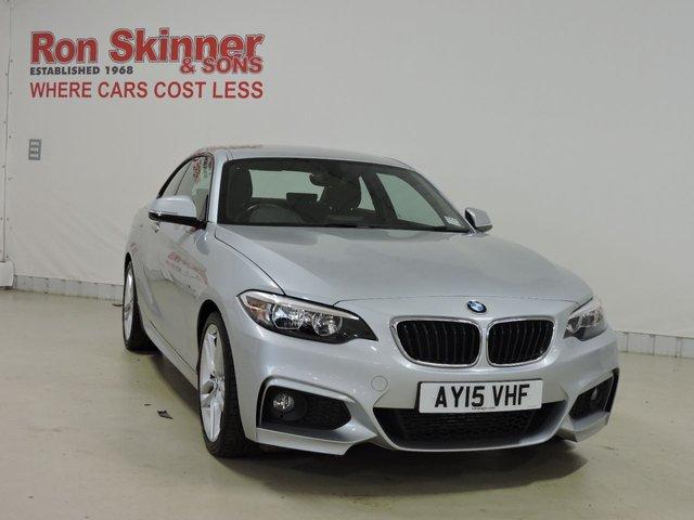 View our 2015 15 BMW 2 SERIES 2.0 220D M SPORT 2d 188 BHP