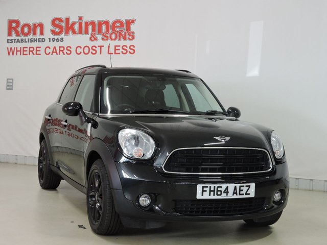 View our 2014 64 MINI COUNTRYMAN 1.6 COOPER D 5d 112 BHP with CHILI Pack + Rear Privacy