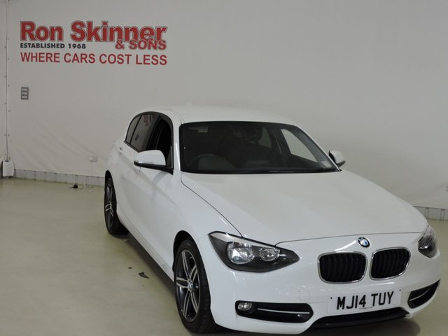 View our 2014 14 BMW 1 SERIES 1.6 116I SPORT 5d 135 BHP