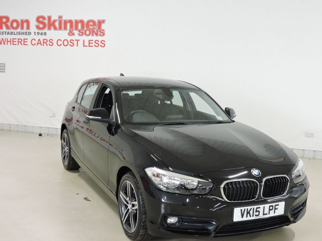 View our 2015 15 BMW 1 SERIES 1.6 118I SPORT 5d 134 BHP