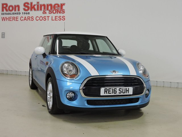 View our 2016 16 MINI HATCH COOPER 1.5 COOPER 3d 134 BHP with Pepper Pack + Park Distance Control