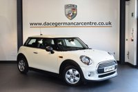 USED 2015 64 MINI HATCH ONE 1.5 ONE D 3DR 94 BHP + FULL MINI SERVICE HISTORY + BLUETOOTH + DAB RADIO + LIGHT PACKAGE + RAIN SENSORS + AUTO AIR CONDITIONING + 15 INCH ALLOY WHEELS +