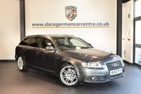 USED 2011 60 AUDI A6 AVANT 2.0 AVANT TDI S LINE SPECIAL EDITION 5DR 168 BHP + FULL BLACK  LEATHER INTERIOR + EXCELLENT SERVICE HISTORY + SATELLITE NAVIGATION + BLUETOOTH + HEATED SPORT SEATS + CRUISE CONTROL + HEATED MIRRORS + AUXILIARY PORT + PARKING SENSORS + 19 INCH ALLOY WHEELS +