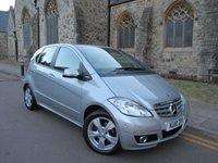 2010 MERCEDES-BENZ A CLASS 2.0 A180 CDI AVANTGARDE SE 5d AUTO 108 BHP £3995.00
