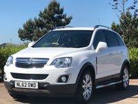 2012 VAUXHALL ANTARA 2.2 SE NAV CDTI 4WD S/S 5d 161 BHP £SOLD