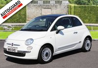 USED 2011 11 FIAT 500 1.2 LOUNGE 3d 69 BHP Drive away from only £27 p/w!