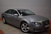 USED 2013 13 AUDI A8 3.0 TDI QUATTRO SE EXECUTIVE 4d AUTO 247 BHP - Try our secure online Finance Application System