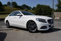 USED 2015 15 MERCEDES-BENZ C CLASS 1.6 C200 BLUETEC SPORT 4d 136 BHP NAVIGATION AND LEATHER