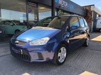 2008 FORD C-MAX 1.6 STYLE 5d 100 BHP