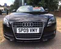 USED 2009 09 AUDI TT 2.0 TDI QUATTRO 2d 170 BHP FULLY ELECTRIC FOLDING ROOF: