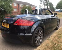 USED 2009 09 AUDI TT 2.0 TDI QUATTRO 2d 170 BHP CONVERTIBLE FULLY ELECTRIC FOLDING ROOF: