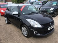 USED 2014 64 SUZUKI SWIFT 1.2 SZ-L 3d 94 BHP BLACK/ WHITE LIMITED EDITION MODEL