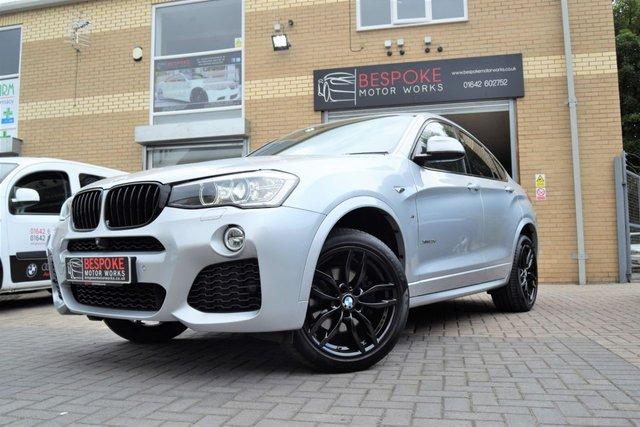 2014 64 BMW X4 XDRIVE20D 2.0 M SPORT AUTOMATIC