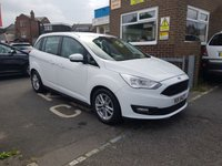 USED 2015 FORD GRAND C-MAX 1.5 ZETEC TDCI 5d 118 BHP NEW MODEL 7 SEATER CHEAP TO RUN WITH LOW CO2 EMISSIONS(113G/KM)..£30 ROAD TAX, EXCELLENT FUEL ECONOMY, AND GOOD SPECIFICATION! WITH PARKING SENSORS, ALLOY WHEELS, AND FULL FORD HISTORY! ONLY 14196 MILES FROM NEW!