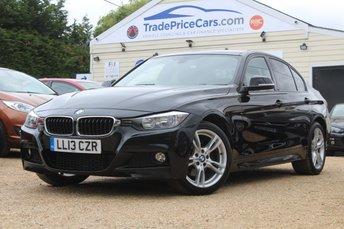 2013 BMW 3 SERIES 2.0 320D XDRIVE M SPORT 4d AUTO 181 BHP £12500.00