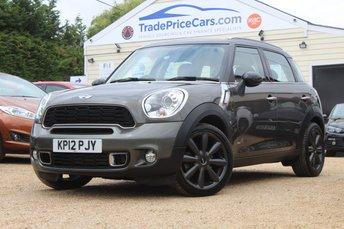 2012 MINI COUNTRYMAN 2.0 COOPER SD ALL4 5d AUTO 141 BHP £9950.00