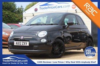 2012 FIAT 500 0.9 TWINAIR PLUS 3d 85 BHP £4950.00