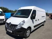 2016 RENAULT MASTER LM35 BUSINESS PLUS 2.3 DCi H2 L3 LWB M/Roof 125 6-SPEED £13495.00