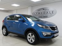 USED 2011 11 KIA SPORTAGE 2.0 CRDI KX-2 5d 134 BHP PAN ROOF, HALF LEATHER, EXCELLENT OVERALL CONDITION