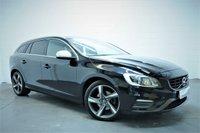 2014 VOLVO V60 2.0 D4 R-DESIGN LUX 5d 178 BHP £9695.00