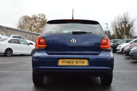 USED 2014 63 VOLKSWAGEN POLO 1.2 MATCH EDITION TDI 3d 74 BHP