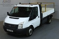 USED 2013 63 FORD TRANSIT 2.2 350 124 BHP L2 MWB TIPPER  ONE OWNER, SERVICE HISTORY