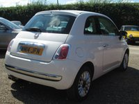 USED 2014 14 FIAT 500 1.2 LOUNGE 3d 69 BHP ELECTRIC WINDOWS - ELECTRIC DOOR MIRRORS