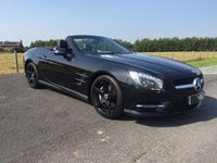 USED 2013 63 MERCEDES-BENZ SL 3.5 SL350 2d AUTO 306 BHP AMG SPORTS PACK+PANORAMIC ROOF, Air Scarf, Elec Wind Deflector