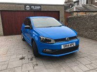USED 2014 14 VOLKSWAGEN POLO 1.0 S 3d 60 BHP LOW MILES + 1 OWNER FROM NEW + FULL HISTORY + MOT JUN 19 + BLUETOOTH + DAB