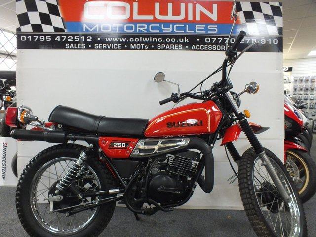 View our SUZUKI TS250
