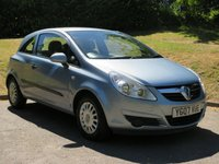 USED 2007 07 VAUXHALL CORSA 1.0 LIFE 3d 60 BHP 10 SERVICE STAMPS